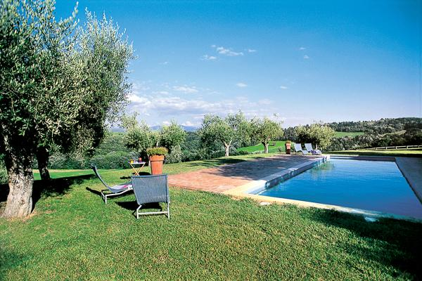 Just over an hour from Rome by car or train, immersed in the greenery of the Umbrian countryside, this villa is a delightful stone farmhouse with private pool. HII VLL - Image 1 - Umbria - rentals
