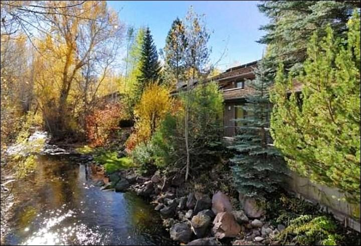 Scenic Mountain Exterior - Overlooks Trail Creek - Beautiful Furnishings and Decor (1114) - Sun Valley - rentals