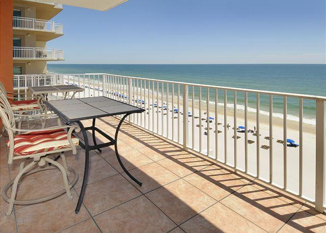 Balcony - Westwind Penthouse 901~ Swanky Penthouse Condo - Gulf Shores - rentals