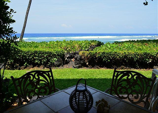 KKSR#3 DIRECT OCEANFRONT TOWNHOME!  Walk to the Beach! Superb Location! - Image 1 - Keauhou - rentals