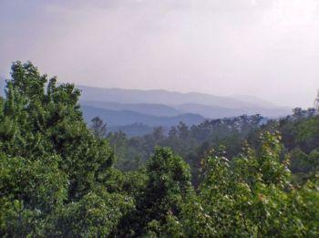 View of the Smoky Mountains - Mountain Shadow Lodge - Gatlinburg - rentals