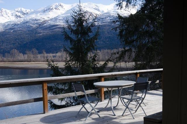 View from the deck #1 - Swan View Cabin #2 - Haines - rentals