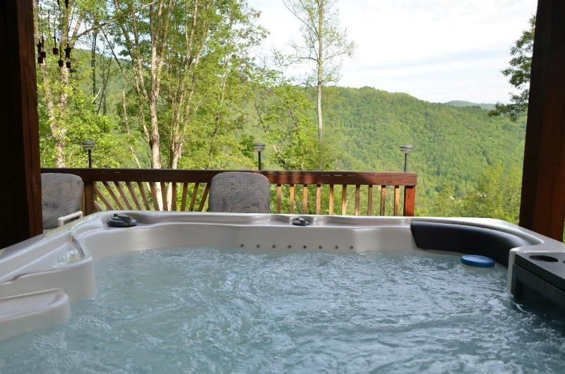 Bear Bottoms Chalet - Private and Romantic Getaway with Outdoor Kitchen - Image 1 - Bryson City - rentals