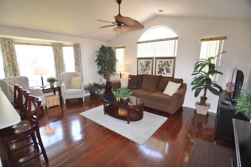 "The spectacular ""The Lion Kings!"" home! Check out the brand new Brazilian walnut floors - WOW! - DISNEY WORLD! ""The Lion Kings!"" Gorgeous, Low $$'s - Kissimmee - rentals"
