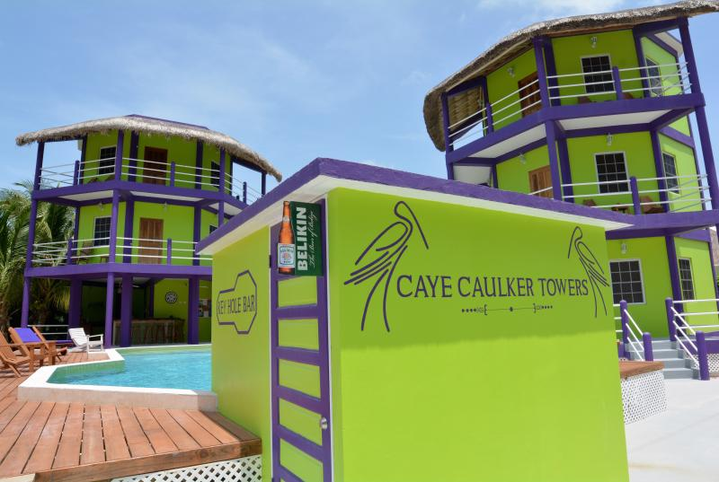 Front View - Caye Caulker Towers - Caye Caulker - rentals
