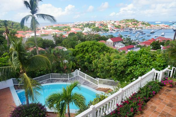 Colony Club apartment overlooking Gustavia Harbor conveniently located WV CCG - Image 1 - Gustavia - rentals