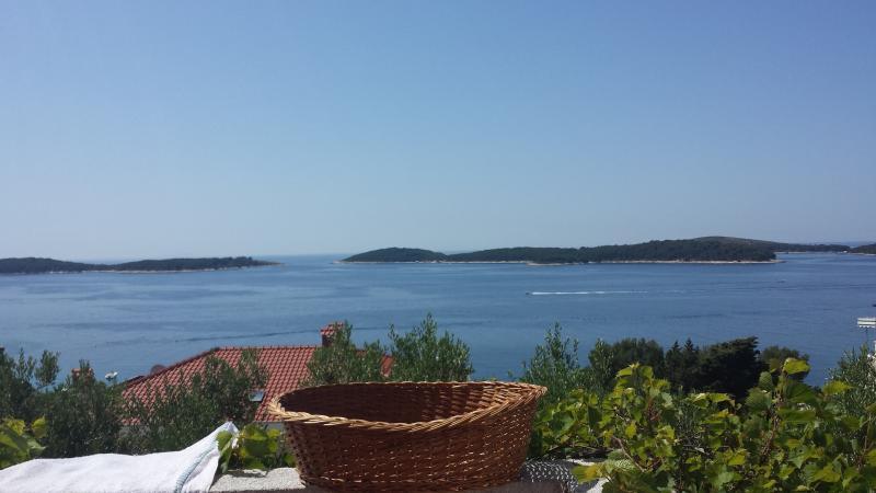 View From terrace - Apartment Maxim Hvar - Hvar - rentals