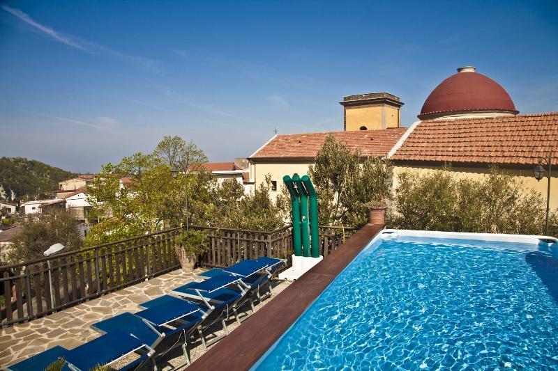 6 bedroom villa with pool & views near Sorrento - Image 1 - Vico Equense - rentals