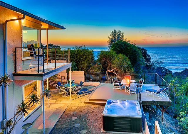 Sweeping ocean, cove, and sunset views with private spa and deck - Image 1 - La Jolla - rentals