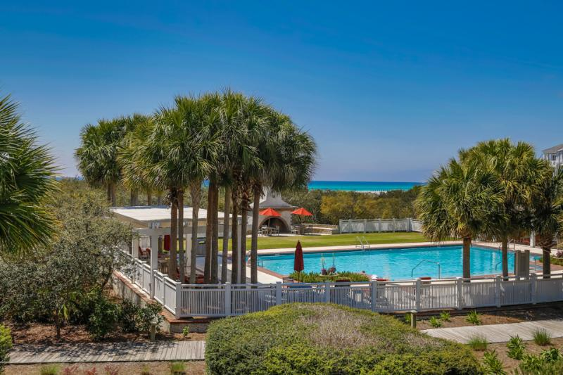 View of pool - AT THE WATERS EDGE - Alys Beach - rentals