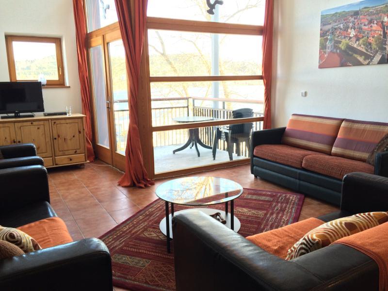 living room first level - Lipno Marina lakefront Penthouse 549 - Lipno nad Vltavou - rentals