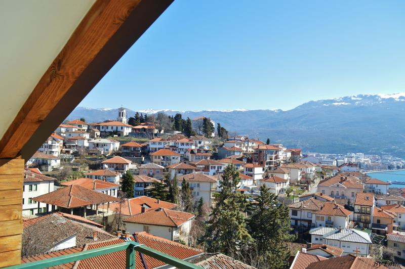 view - Yelow Apartmetn (Villa Ohrid) - Ohrid - rentals