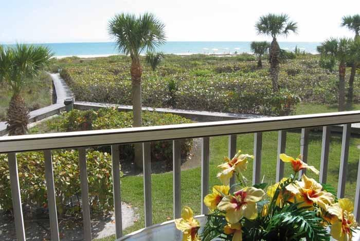 View From Gulf Beach #103 - Gulf Beach - Panoramic View on Quiet Beach - Sanibel Island - rentals
