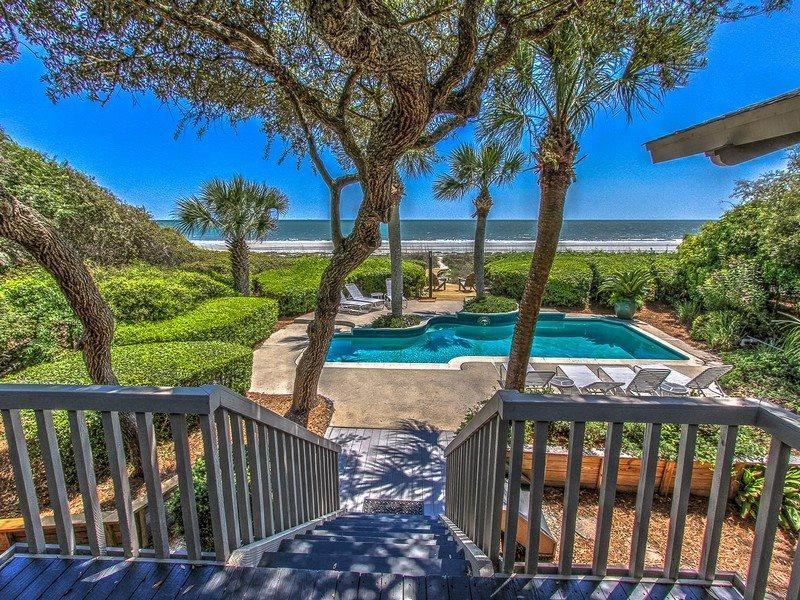 View from 8 East Beach Lagoon - 8 East Beach Lagoon - Hilton Head - rentals