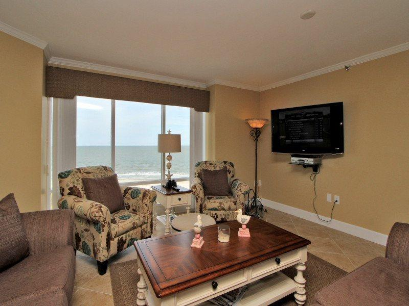 Breathtaking views from the Living Area in 3433 Villamare - 3433 Villamare - Hilton Head - rentals