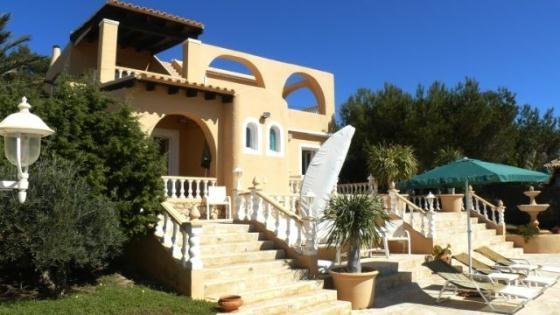 3 bedroom Villa in Cala Codolar, Ibiza, Ibiza : ref 2133374 - Image 1 - Cala Tarida - rentals