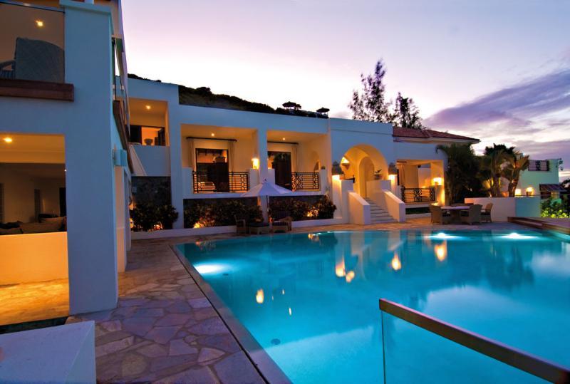 L'Oasis at Baie Rouge, Saint Maarten - Beachfront, 2 Pools & Jacuzzi, Chef - Image 1 - Terres Basses - rentals