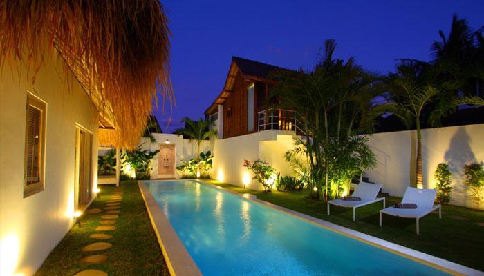 Charming and exotic villas Seminyak Oberoi 8BR - Image 1 - Seminyak - rentals