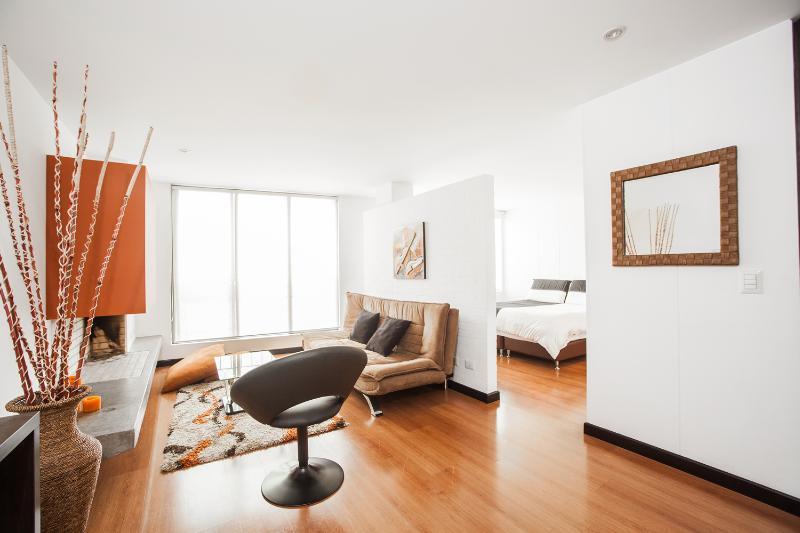 Sleek Studio Apartment in La Cabrera - Image 1 - Bogota - rentals