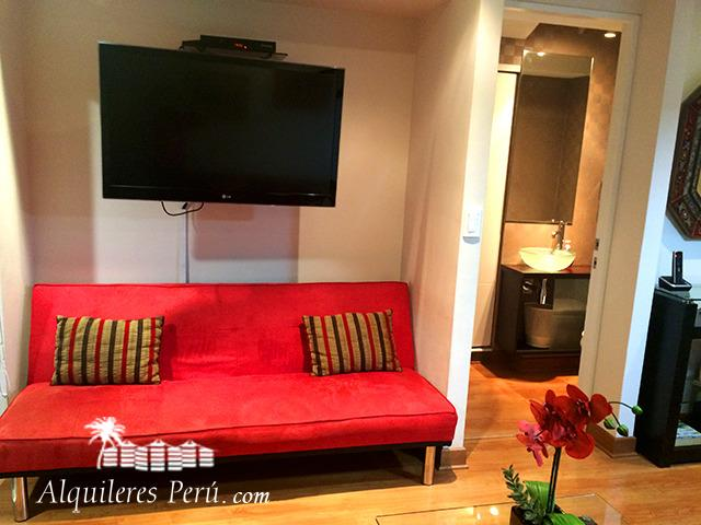 Nice Apartment With balcony in miraflores - Image 1 - Lima - rentals