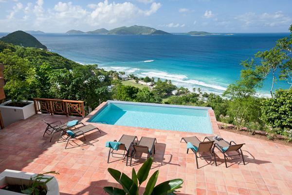 Situated on a private hillside above Long Bay Beach. MAT ALF - Image 1 - Long Bay - rentals
