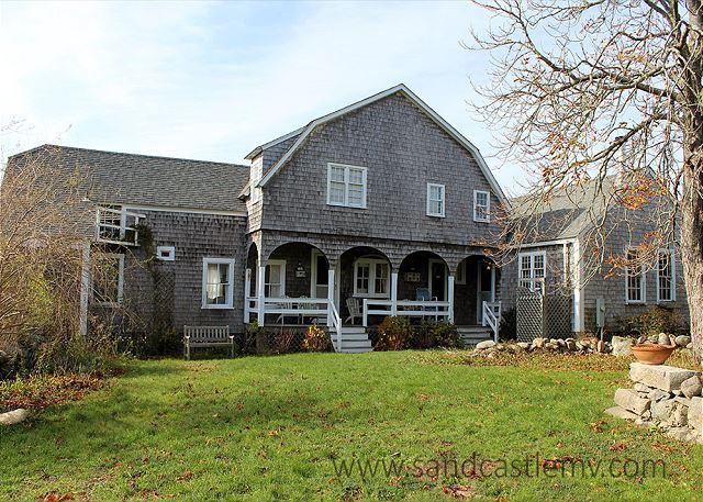 CLASSIC WATERFRONT VINEYARD HOME ON 40 ACRES - Image 1 - Chappaquiddick - rentals