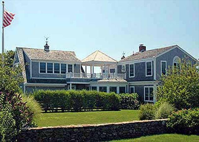 ELEGANT BEACH HOUSE WITH VIEWS OF KATAMA BAY - Image 1 - Edgartown - rentals