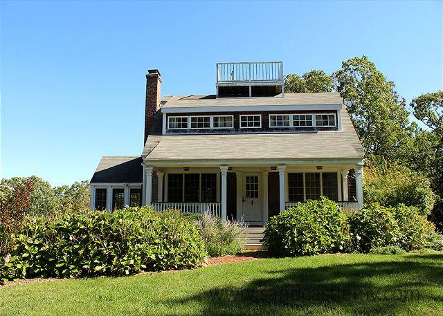 BEAUTIFUL POST & BEAM HOME SET ON 7 ACRES - Image 1 - West Tisbury - rentals