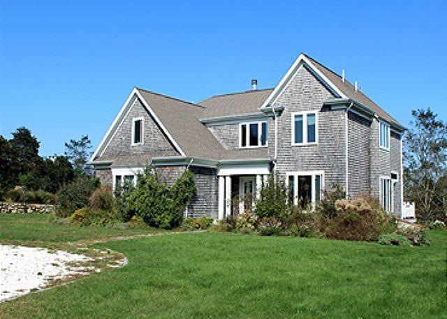 ENJOY SUNSETS & WATERVIEWS FROM THIS BEAUTIFUL AQUINNAH HOUSE & GUEST HOUSE - Image 1 - Aquinnah - rentals