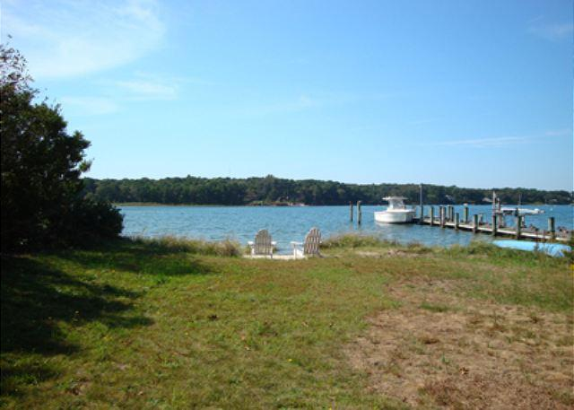LAKE TASHMOO (salt water!) WATERFRONT COTTAGE! - Image 1 - Vineyard Haven - rentals