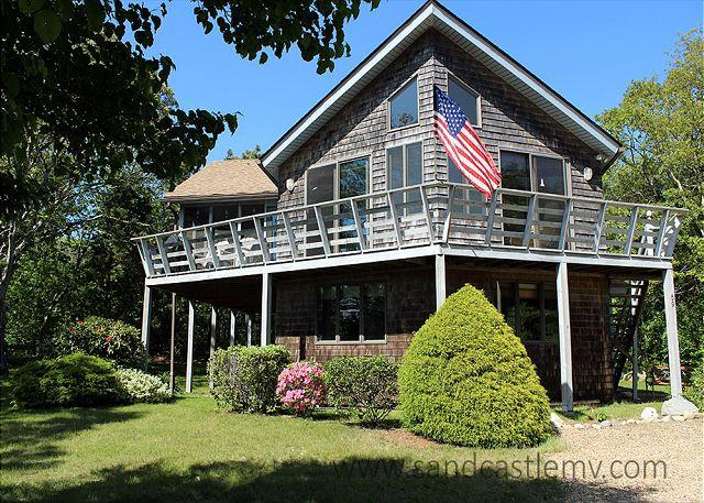 SUN FILLED HOME WITH BEAUTIFUL VIEWS OF THE LAGOON - Image 1 - Oak Bluffs - rentals