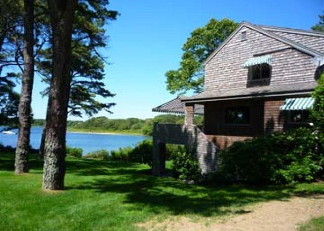 Beautiful Waterfront home with a Pool - Image 1 - Edgartown - rentals
