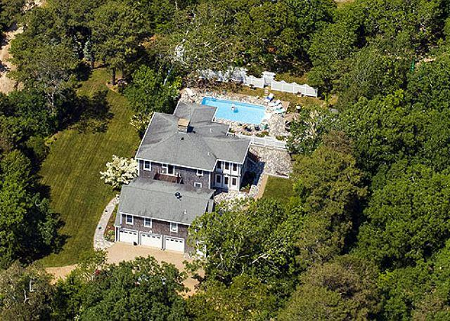 LAZE BY THE POOL OR LOUNGE IN THE INTERIOR! - Image 1 - Chappaquiddick - rentals