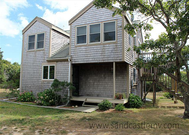 CONTEMPORARY COTTAGE WITH BEAUTIFUL WATERVIEWS OF KATAMA BAY - Image 1 - Edgartown - rentals