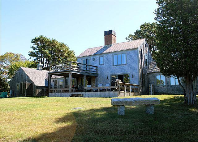 CLASSIC VINEYARD WATERFRONT HOME AT GREAT FISHING SPOT - Image 1 - West Tisbury - rentals