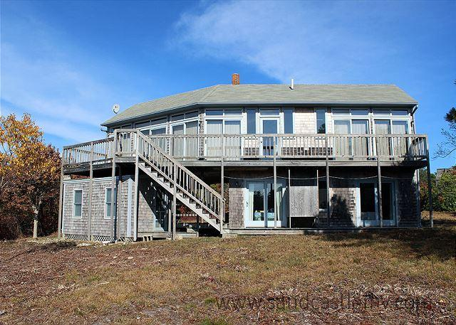 KATAMA BAY WATERVIEWS FROM THIS WONDERFUL CHAPPAQUIDDICK HOME - Image 1 - Chappaquiddick - rentals
