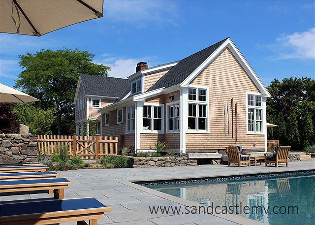 Beautiful Katama Home with Heated Pool - Image 1 - Edgartown - rentals