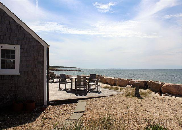 Beachfront house with beautiful views! - Image 1 - Vineyard Haven - rentals