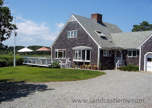 Beautiful Chappaquiddick, Caleb's Pond waterfront property - Image 1 - Chappaquiddick - rentals