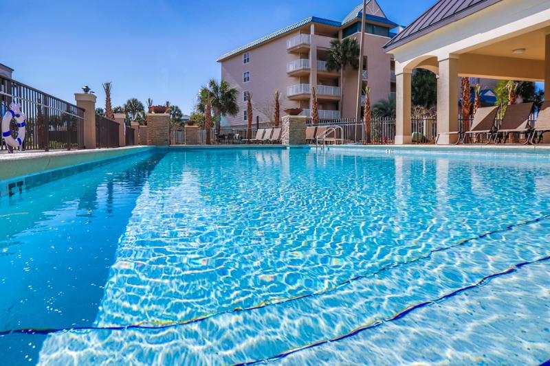 Pool view - ALERIO A305 - Miramar Beach - rentals