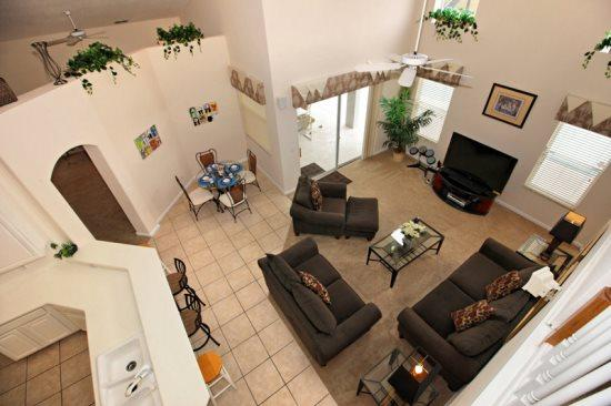 5 Bed 3 Bath Pool Home with Games Room. 140PD - Image 1 - Orlando - rentals