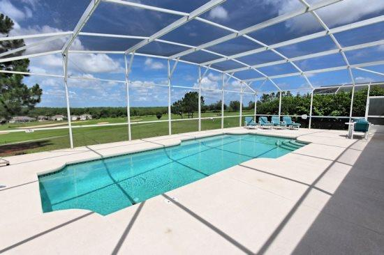 Large 5 Bedroom Home Overlooks the Golf Course. 169BD - Image 1 - Orlando - rentals
