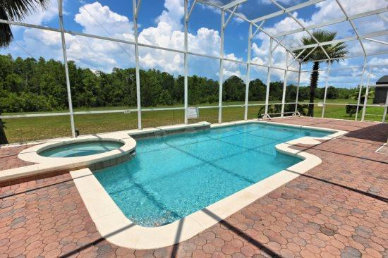 5 Bedroom Pool Home In Golf Community. 213BIRK - Image 1 - Orlando - rentals
