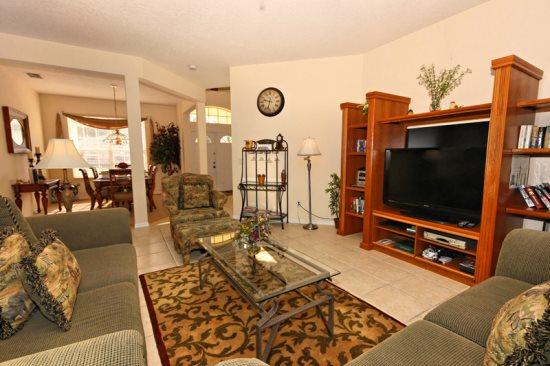 5 Bed 3 Bath Pool Home on the 1st Fairway of the Highlands Reserve Golf Course. 229NHD. - Image 1 - Orlando - rentals