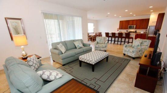 Mediterranean Styled 6 Bedroom 5.5 Bathroom Pool Home in Watersong. 456OCB - Image 1 - Orlando - rentals