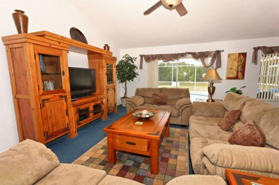 5 Bed 3 Bath Pool Home With Games Room & Conservation View. 321BIRK - Image 1 - Orlando - rentals