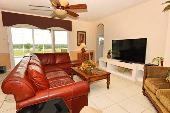 6 Bed 4 Bath With Pool, Spa And Games Room On The Golf Course. 337BD - Image 1 - Orlando - rentals