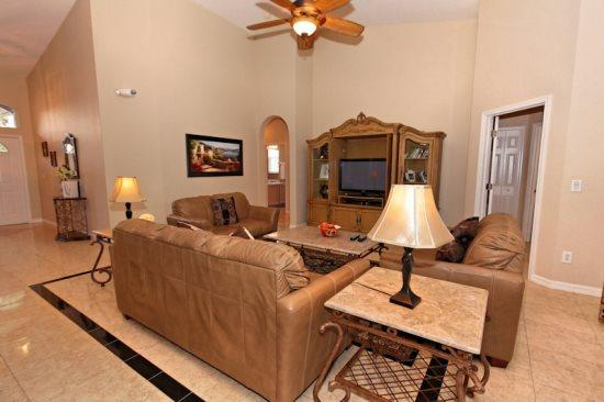 Lovely 5 Bed 3 Bath Pool Home In Highlands Reserve Golf Community. 346BD. - Image 1 - Orlando - rentals