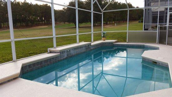 4 Bed 3 Bath Disney Pool Home With Fantastic Golf Course View. 332HCD - Image 1 - Orlando - rentals