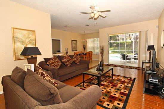 Luxury 4 Bedroom 2 Bathroom Pool Home. 1719NHD - Image 1 - Orlando - rentals